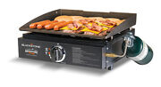 Tabletop Camping Griddle Two Burner Propane Bbq Rv Griddles Outdoor Portable