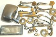23 Piece Vintage Lot Ford Automobile Car Parts Ford Mercury Other Manufacturers