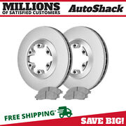Front Disc Brake Rotors And Ceramic Pads Kit For Chevy Colorado Gmc Canyon 3.5l