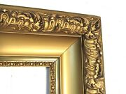 Antique Great Quality Lemon Gold Gilt Frame For Painting 20 X 16 Inch