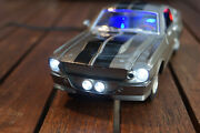 1967 Ford Mustang Gt 500 Shelby Eleanor Mit Led-beleuchtungxenon124 Grau
