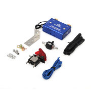 Dual Stage Electronic Turbo Boost Controller Psi Turbocharger W/ Switch Kit Blue