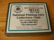 2011 Nationals Nflcc Club 3 Lure Set Made By Little Sac Bait Co