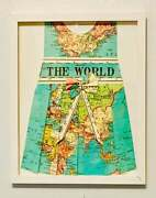 Oh The Places Youand039ll Go Baby Girl Nursery Picture Wall Hanging Map Of The World