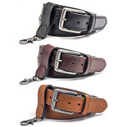 Winchester Concealed Carry Belt For Men Ccw 14 Oz Leather Handcrafted In Usa