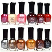 12 Pcs Kleancolor Nail Polish Red Pink Brown Gold Lacquer