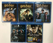 Harry Potter Collection Blu-ray Disc Includes 1, 2, 3, 5 And 7 Part 2 Brand New