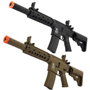 Lancer Tactical Gen2 M4 Cqb Ris Sd Aeg Airsoft Rifle W/ Battery And Charger Lt-15