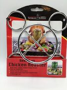 The Grilling Enthusiast Beer Can Chicken Roaster