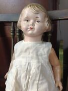 Rare Madame Hendren 17 Doll 1717 With Cryer Vintage - Averill Composition