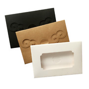 Hot Kraft Paper Postal Card Boxes Pack Foldable Photo Envelope Gift Packing Bags