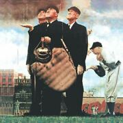 Norman Rockwell Famous Artwork Cleaning Cloth Andquotbottom Of The Sixthandquot