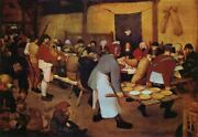 Famous Artwork Theme Cleaning Cloth Andaposthe Peasant Weddingandapos By Bruegel