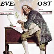 Norman Rockwell Famous Artwork Cleaning Cloth Andquotben Franklinandquot