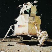 Norman Rockwell Famous Artwork Cleaning Cloth Andquotman On The Moonandquot