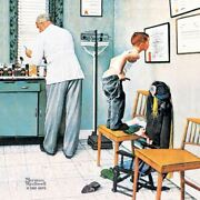 Norman Rockwell Famous Artwork Cleaning Cloth Andquotbefore The Shotandquot