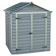 Palram Canopia Skylight Grey Shed 4x6ft 6x3ft 6x5ft 6x8ft 6x10ft 6x12