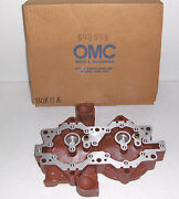 Omc 592951 Head And Sleeve Assemblycylinder Vintage