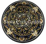 42 Marble Center Table Top Inlay Floral Lapis Art For Home Decor And Garden