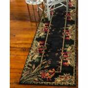 Rooster Runner Rug Farmhouse Decor Unique Country Rugs 3 X 10 Black Olive Red