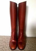 New Hermes Classic Riding Jumping Boots Extremely Rare