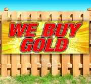 We Buy Gold Advertising Vinyl Banner Flag Sign Many Sizes Collectibles Pawn