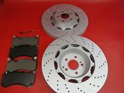 Mercedes Benz S63 S65 Amg Front Brake Pads And Rotors 503 Topeuro