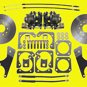 Gm Rear Disc Brake Conversion Kit A And F Body 10 And 12 Bolt Non-staggered Shocks