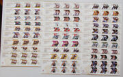 London 2012 Olympic Gold Medal Winners Miniature Sheets. Each Sold Separately.