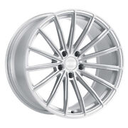 Xo Luxury London 20x10.5 5x120 Offset 30 Silver W/brushed Face Quantity Of 4