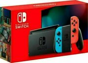 Nintendo Switch Red And Blue Joy-con And Accessories 6 Month Warranty
