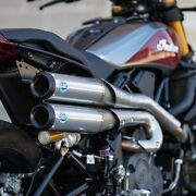 Sands Cycles 550-0950b Stainless Grand National 2-2 Full Exhaust Indian Ftr1200