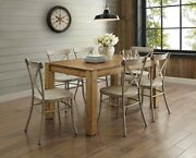 Dining Room Table Set Rustic Farmhouse Kitchen Tables And Chairs Sets 7 Piece