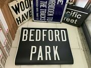 Bmt Ny Nyc Subway Roll Sign Bedford Park Lehman College Botanical Garden Bronx