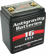 Antigravity Batteries 16 Cell Lithium Ion Small Case Motorcycle Battery Ag1601