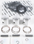 Wiseco Top End Piston Kit 0.71mm Overbore 72mm Fits Polaris Sl T X 780 Wk1218