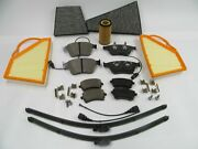 Bentley Continental W12 Front Rear Brake Pads Air Oil Cabin Filters Wiper Blades