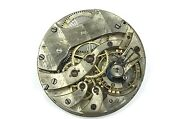 Rare Antique Shreve And Co Swiss High Grade Watch Movement For Parts Or Repair