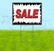Sale 18x24 Yard Sign With Stake Corrugated Bandit Usa Business Dealership