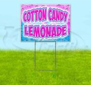Cotton Candy Lemonade 18x24 Yard Sign With Stake Corrugated Bandit Usa Business