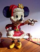 Disney Poliwoggs Minnie Mouse Vintage Looking Classic Figure 9andrdquo