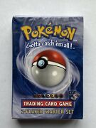 Pokemon 2 Player Starter Set Deck - Brand New And Factory Sealed