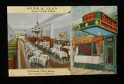 1940s Interior Rene And Jean French Table Dand039hote R. Mignon Olive St Los Angeles Ca