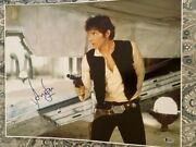 Harrison Ford Signed Autographed 16x20 Photo Star Wars Han Solo Beckett