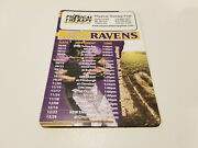Baltimore Ravens 2013 Nfl Football Magnet Schedule - Physical Therapy First