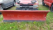 8 Ft Boss Rt3 Snowplow Straight Blade W/wiring And Controller Snow Plow 75