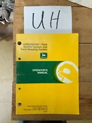 John Deere Yield Monitor And Mapping System Operator Manual Part Omh176636 Nos