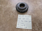 Nors 1937-39 Ford V8 60 Hp 3-speed 27 Tooth Low Reverse Slide Gear Wt227-12a