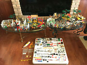 Rare Vintage 1974 - 81 Playmobil Huge Lot 15 Sets 800+ Pcs Accessories And Extras