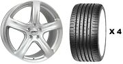 20 S Tourer Alloy Wheels + Xl Tyre Ford Transit Tourneo Rated 1250kg 5x160